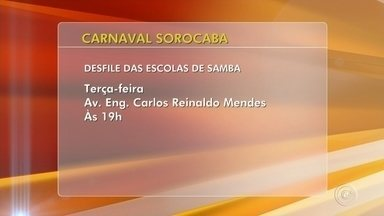 Confira as atrações para o Carnaval em Sorocaba e região - Confira as atrações neste Carnaval em Sorocaba e região.
