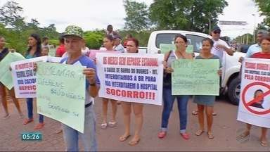 Protesto em Barra do Bugres - Protesto em Barra do Bugres