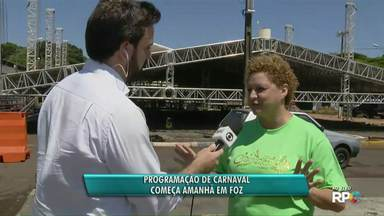 Programação de Carnaval começa neste sábado (9), em Foz do Iguaçu - Primeira atração é o concurso da Menina Veneno, no CTG Charrua.