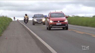 Motoristas dirigem em alerta para as situações de perigo em estradas do MA - No Vale do Pindaré a população tem que ter atenção ao se aproximar ou cruzar a ferrovia Carajás.