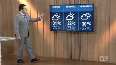Confira a previsão do tempo no Maranhão - Segundo a meteorologia a sexta-feira (9) em São Luís será de tempo nublado com mínima de 22 graus e máxima de 30.