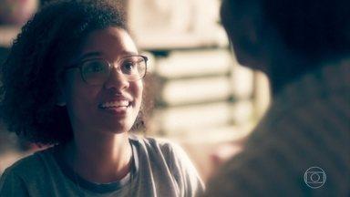 Ellen sonha com o pai - No sonho, Vicente aconselha Ellen a usar o conhecimento para ajudar os outros. A menina conversa com Anderson sobre o sonho que teve