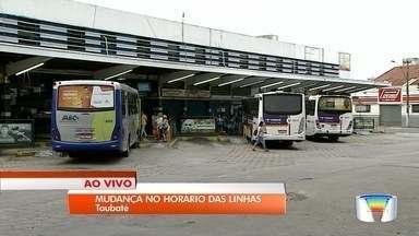 Linhas de ônibus passam por ajustes em Taubaté - Prefeitura promoveu mudanças nos horários.