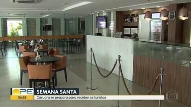 Rede hoteleira de Pernambuco já se prepara para a Semana Santa - Cidades do Agreste do estado prevém a chegada de turistas para os espetáculos da Paixão de Cristo.