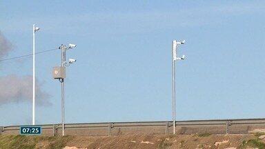 Radar instalado em Cariacica gera dúvidas em motoristas no ES - Viaduto fica no viaduto da Ceasa.