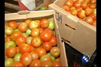 No 'Quadro dia de feira' falou sobre o preço do tomate - O valor alta não tem agradado o consumidor.