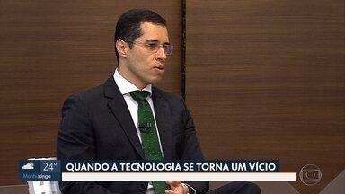 Psiquiatra explica sobre vício em tecnologia - Entrevista no estúdio com o médico Renato Ferreira.