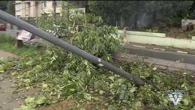 Defesa Civil de São Vicente faz alerta sobre fortes chuvas - Chuva dos últimos dias está preocupando as autoridades da região.
