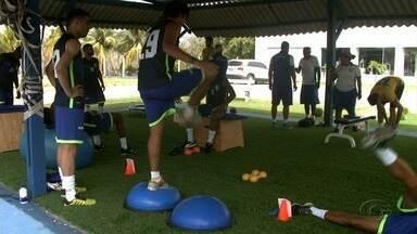 Nas vésperas do jogo contra o São Paulo, CSA treina de portões fechados - Jogo é pela segunda fase da Copa Brasil.