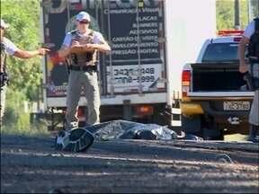 Polícia Civil procura testemunha de atropelamento de ciclista em Passo Fundo, RS - Mulher que estava com o motorista fugiu do hospital onde estava internada