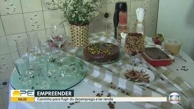 Linhas de crédito específica para empreendedores auxiliam quem quer começar um negócio - Agefepe pode auxiliar empreendedores como Patrícia Karla, que vende café gourmet.