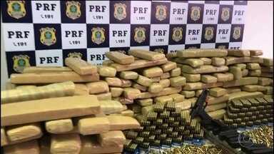 PRF intensifica operações para impedir entrada de armas e drogas no Rio de Janeiro - Polícia Rodoviária Federal vem realizando operações para impedir entrada de armas e drogas e o roubo de cargas no Rio de Janeiro.
