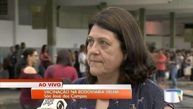 São José inicia vacinação contra febre amarela na rodoviária velha - Prefeitura quer aumentar vacinação da população.