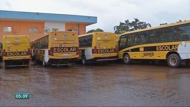 Estudantes estão sem estudar por falta de transporte escolar - Estudantes estão sem estudar por falta de transporte escolar