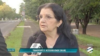 Veja como está a acessibilidade no transporte em municípios de MS - Dourados faz campanha em prol da acessibilidade. Campo Grande tem melhorado neste item.