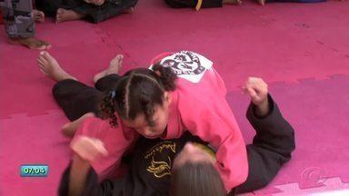 Atletas do Morganti Ju-Jitsu se preparam para competição em Alagoas - Evento é considerado o maior evento do ano.