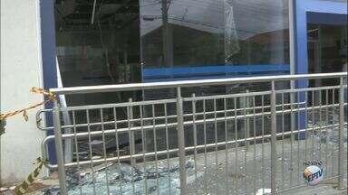 Grupo armado invade 4 agências bancárias de Caconde, SP - Ação aconteceu na madrugada desta quarta-feira (21).