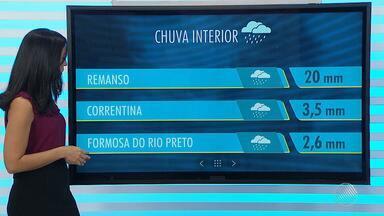 Chuva no interior do estado é destaque na previsão do tempo desta quarta-feira (21) - Confira também a previsão para Salvador.
