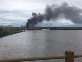Usina de Taquaruçu investiga causas de incêndio e avalia prejuízos - Corpo de Bombeiros informou que houve um curto-circuito em um transformador.