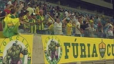 Cuiabá em mais uma decisão na Copa do Brasil - Cuiabá em mais uma decisão na Copa do Brasil.