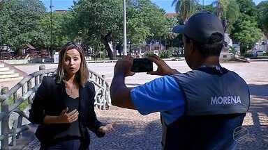 Carla Salentim explica como gravar vídeos para o Brasil Que eu Quero - Que Brasil você quer para o futuro? A TV Globo quer ouvir o desejo de cada um dos 5.570 municípios do Brasil. O país inteiro vai dar o seu recado nos telejornais da emissora. Você pode ser o porta-voz da sua cidade.