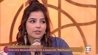 Gabriela Medvedovski comenta amizade das five em 'Malhação' - Atriz destaca a sororidade abordada na novela