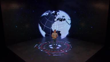 Huck lembra como conheceu Anna Paulla no 'Caldeirão ao Cubo' - Ele lembra como decidiu levá-la para conhecer a NASA