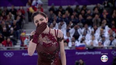 Medvedeva tira ótima nota, mas não supera Zagitova e fica com a prata - Medvedeva tira ótima nota, mas não supera Zagitova e fica com a prata