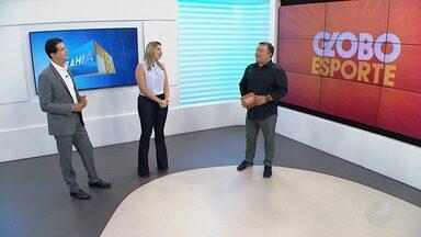 GE traz os detalhes sobre o jogo entre Vitória e Jacuipense - Veja na chamada do esporte no Bahia Meio Dia.