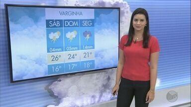 Confira a previsão do tempo para este sábado (24) no Sul de Minas - Confira a previsão do tempo para este sábado (24) no Sul de Minas