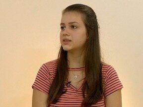 Violinista Natália Rizzo realiza os próprios sonhos na música - Com apenas 16 anos, ela foi selecionada para integrar uma das maiores orquestras do país.