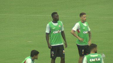 Vitória abre treino para imprensa e enfrenta o Jequié neste domingo (25), pelo Baianão - A partida será transmitida pela TV Bahia, às 17 horas.