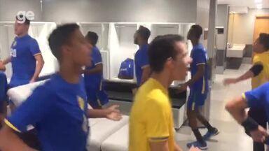 Caic Balduíno vence mais uma e leva o Brasil às quartas de final do Mundial de handebol - Caic Balduíno vence mais uma e leva o Brasil às quartas de final do Mundial de handebol