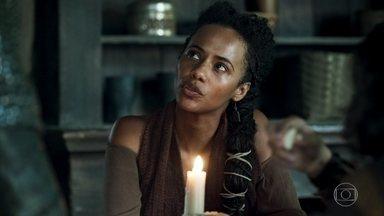 Samara acorda doente - Afonso se oferece para levar Levi à escola