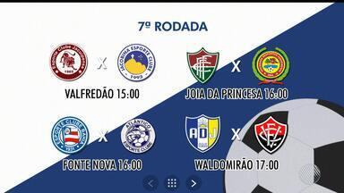 Baianão: oito times se enfrentam e disputam espaço no G4, neste domingo (25) - A partida entre o Vitória e o Jequié será transmitido pela TV Bahia.