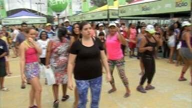 Ação Verdes Mares movimenta o Bairro Rodolfo Teófilo - Confira mais notícias em G1.globo.com/ce
