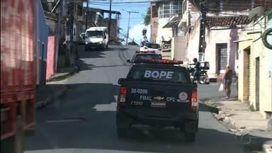Ocupação policial em Rio Largo não diminui sensação de insegurança entre moradores - Objetivo da polícia com a ação é reduzir índices de violência no município.
