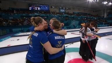 Suécia é tricampeã olímpica no curling feminino em PyeongChang