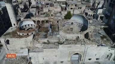 Líderes europeus cobram que ditador da Síria cumpra cessar-fogo - Cessar-fogo de 30 dias foi aprovado no Conselho de Segurança da ONU, mas há relatos de novos ataques mesmo depois da definição da trégua.