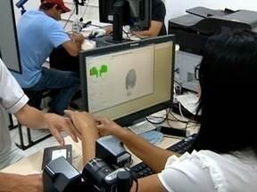 Falta de registro da biometria em algumas cidades preocupa Justiça Eleitoral - Procedimento é obrigatório para alguns municípios do Oeste Paulista.