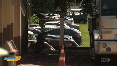 Moto roubada é encontrada pela polícia, mas é furtada do pátio da delegacia - O caso foi em Foz do Iguaçu. A polícia investiga o caso.
