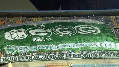 Goiás faz promoção para incentivar mulheres a irem ao estádio, em Goiânia - Treino será com portões abertos para a torcida. Ingressos custam R$ 30 nas arquibancadas e R$ 50 nas cadeiras.