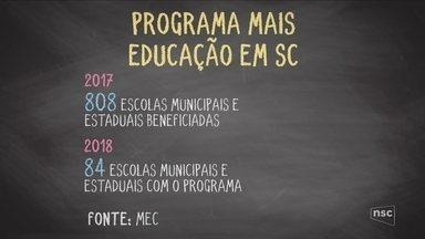 Programa 'Mais Educação' é suspenso em SC - Programa 'Mais Educação' é suspenso em SC