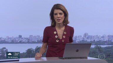 RJ1 - Íntegra 27 Fevereiro 2018 - O telejornal, apresentado por Mariana Gross, exibe as principais notícias do Rio, com prestação de serviço e previsão do tempo.