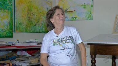 Autora Peninha participa de clube de leitura em Corumbá, MS - A participação no evento é gratuita.