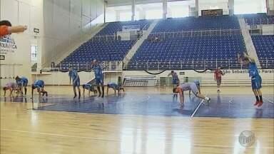 Equipe de São Sebastião do Paraíso se prepara para Liga Nacional de Futsal - Equipe de São Sebastião do Paraíso se prepara para Liga Nacional de Futsal