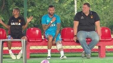 DM do Sport tem trabalho extra com atletas do grupo rubro-negro - Sport joga no próximo domingo, pelo Pernambucano, contra o Salgueiro, no Sertão