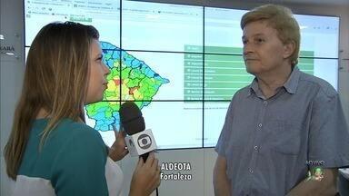 Março deve começar com chuvas em todo o Ceará, diz Funceme - Confira mais notícias em G1.globo.com/ce