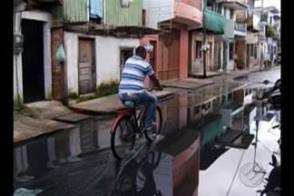 Atraso nas obras de macrodrenagem aumentam ainda mais o prejuízos da chuva em Belém - A demora é tão grande que os moradores já perderam a esperança.