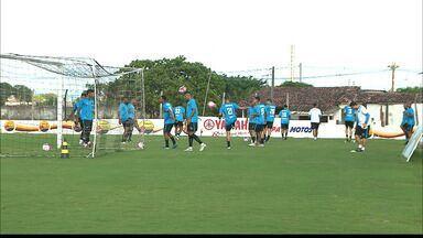 Time do Botafogo-PB se reapresenta falando em persistência para roubar a ponta do Grupo A - Belo vem de goleada sobre a Desportiva Guarabira por 5 a 0 e se prepara para o confronto com o Atlético de Cajazeiras, que acontece neste domingo no Estádio Almeidão, em João Pessoa